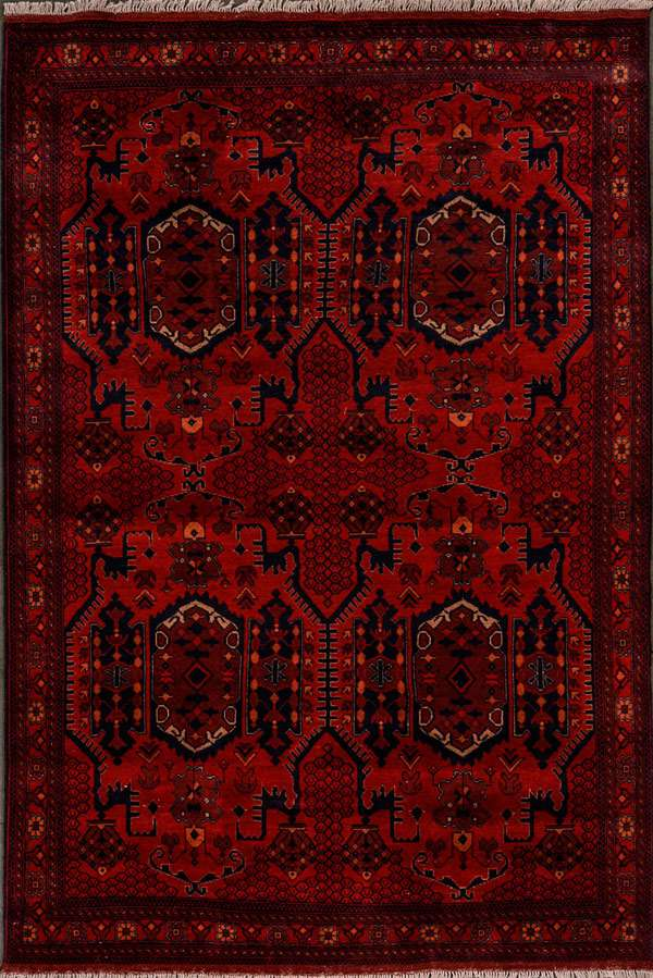 Afghani Rug Home Decor